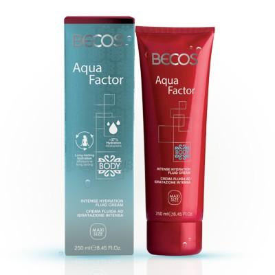 Aqua Factor Crema Corporal Fluida Hidratante Intensa