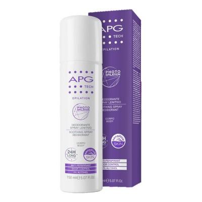 Apg Tech Desodorante En Spray Corporal Calmante