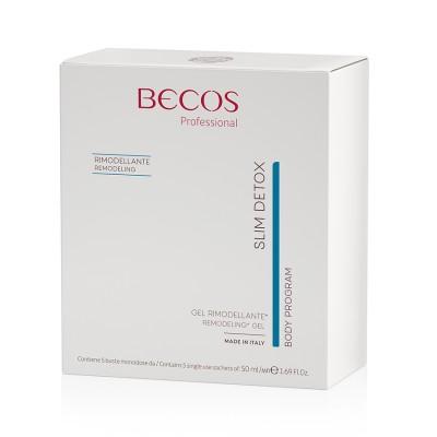 Slim Detox Gel Remodelador Profesional 5 Sobres Monodosis 50ml