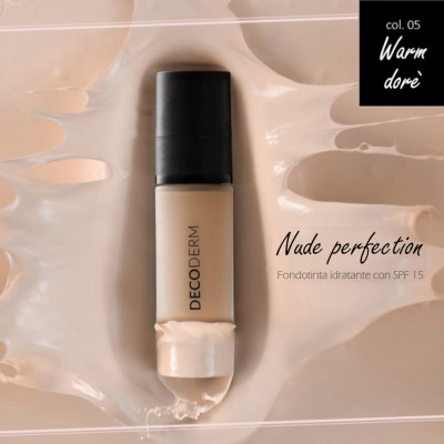 Decoderm Nude Perfectionbase Hidratante Spf15 Col.05