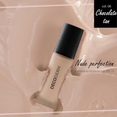 Decoderm Nude Perfectionbase Hidratante Spf15 Col.06