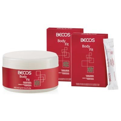 Body Fit Professional- Suero (20) Y Crema Tonificante 400ml