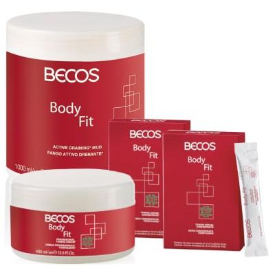Body Fit Professional- Lodo Drenante Y Suero (20) Celulitis +cr.400 Ml Tónico