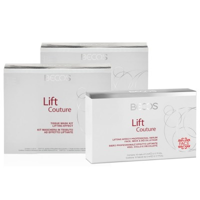 Lift Couture Professional- Máscara (10) Y Suero (10) Efecto Lifting Facial